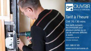 OUVRIR – Le serrurier à Lausanne, un expert en sécurité toujours à l'écoute