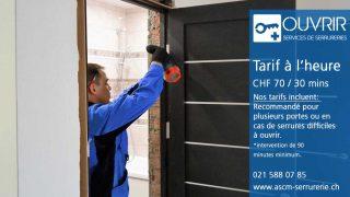 Comment OUVRIR – le serrurier à Lausanne conçoit la sécurité professionnelle?